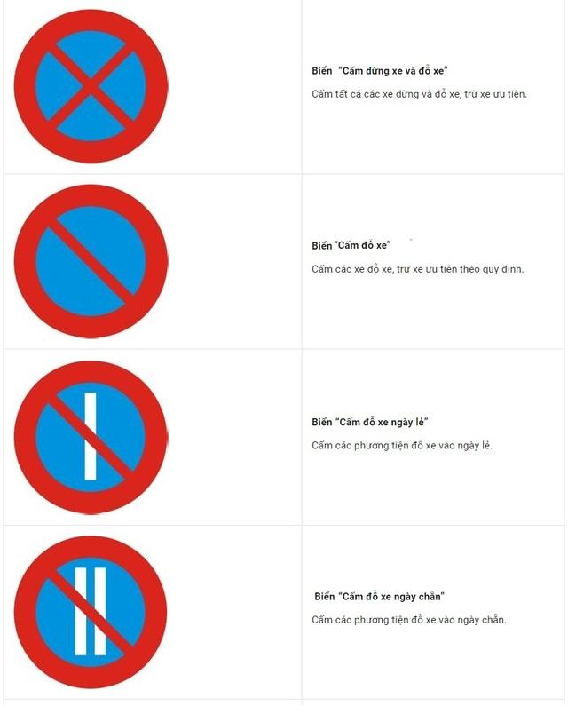 Ở thành phố, dừng đỗ xe thế nào để không bị phạt? - 2