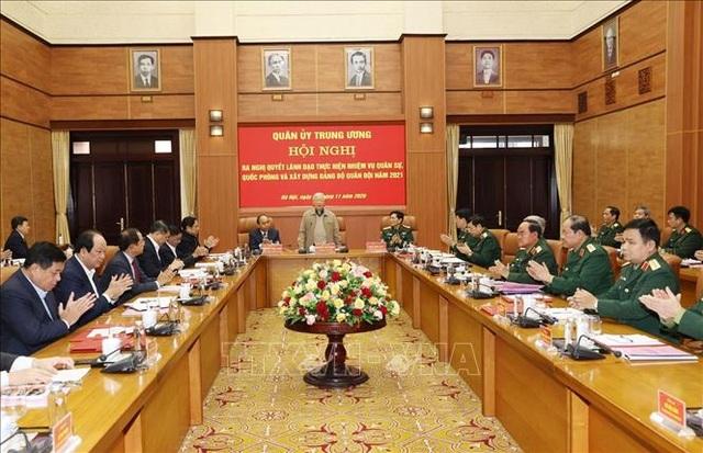 Tổng Bí thư, Chủ tịch nước chủ trì Hội nghị của Quân ủy Trung ương - 2