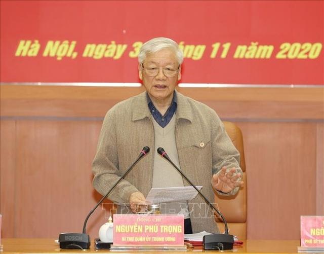Tổng Bí thư, Chủ tịch nước chủ trì Hội nghị của Quân ủy Trung ương - 1
