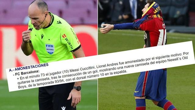 Báo cáo đặc biệt về vụ Messi cởi áo tri ân Maradona - 1