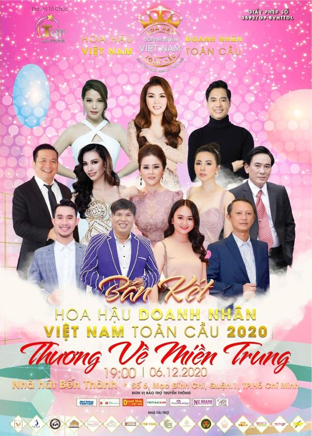 Hoa hậu Hoàng Thị Thảo Nguyên ngồi ghế nóng Hoa hậu Doanh nhân Việt Nam Toàn cầu 2020 - 2