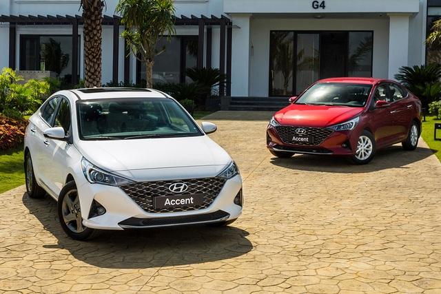Hyundai Accent, Honda City vượt doanh số Toyota Vios đầu năm 2021 - 2