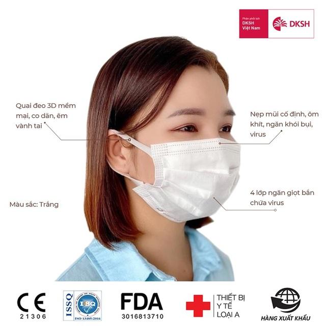 Làm thế nào để phân biệt khẩu trang y tế kháng khuẩn đạt chuẩn - 3