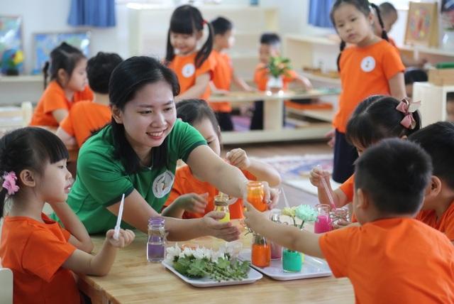 Ngắm ngôi trường mầm non sở hữu diện tích khủng tại Long Biên - 8