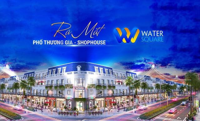 Khu Tây tiếp tục dậy sóng với siêu phẩm Phố Thương gia Water Square - 2