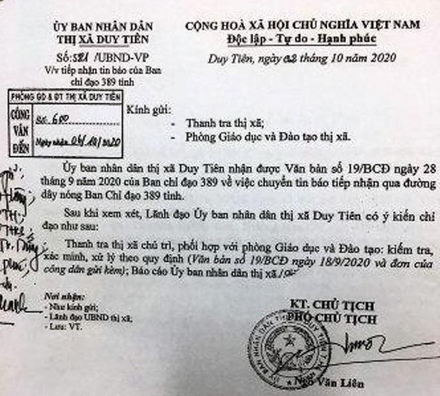 Vụ sách giả tại Hà Nam: Không ép phụ huynh, học sinh đăng ký mua vở bài tập - 1