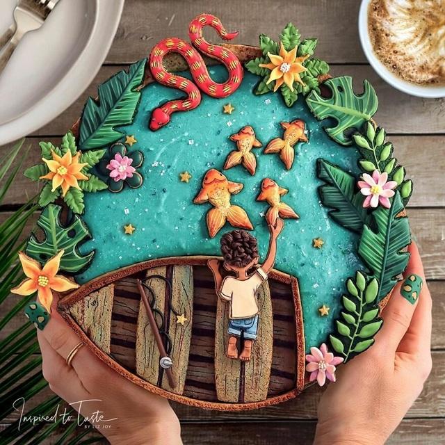 Chiêm ngưỡng những chiếc bánh đẹp như tranh vẽ, đến mức… không nỡ ăn - 2