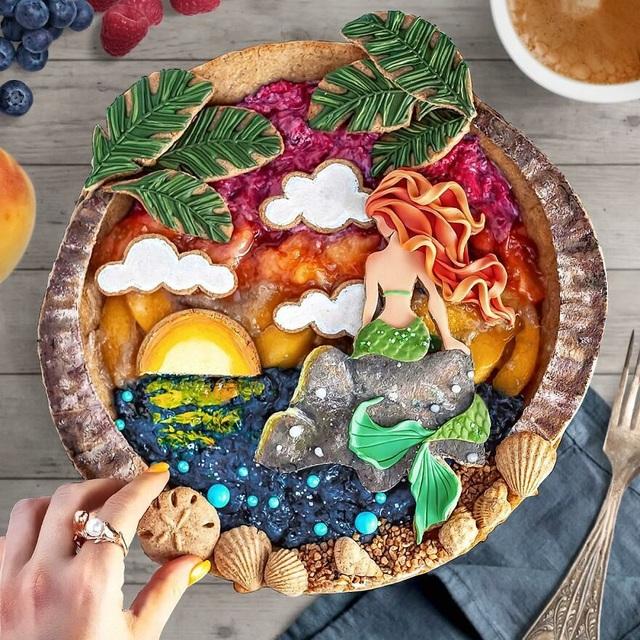 Chiêm ngưỡng những chiếc bánh đẹp như tranh vẽ, đến mức… không nỡ ăn - 4