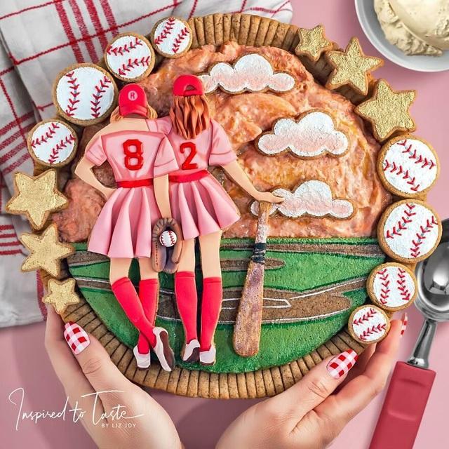 Chiêm ngưỡng những chiếc bánh đẹp như tranh vẽ, đến mức… không nỡ ăn - 9