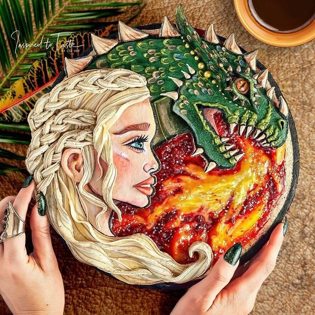 Chiêm ngưỡng những chiếc bánh đẹp như tranh vẽ, đến mức… không nỡ ăn - 12