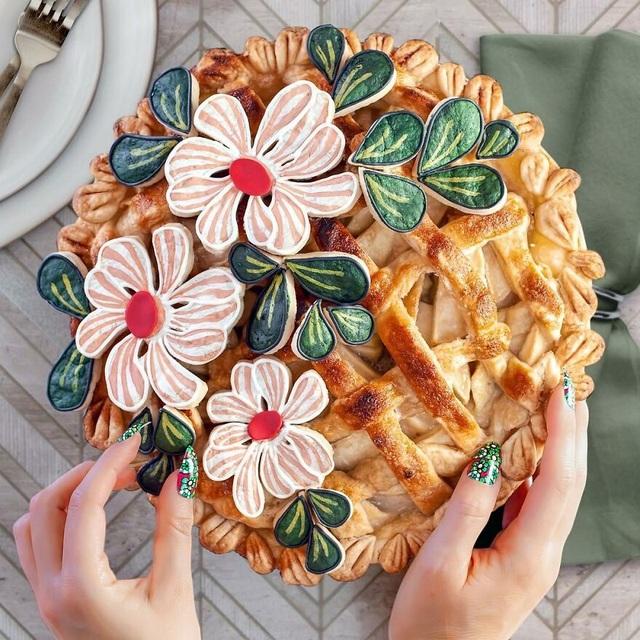 Chiêm ngưỡng những chiếc bánh đẹp như tranh vẽ, đến mức… không nỡ ăn - 17