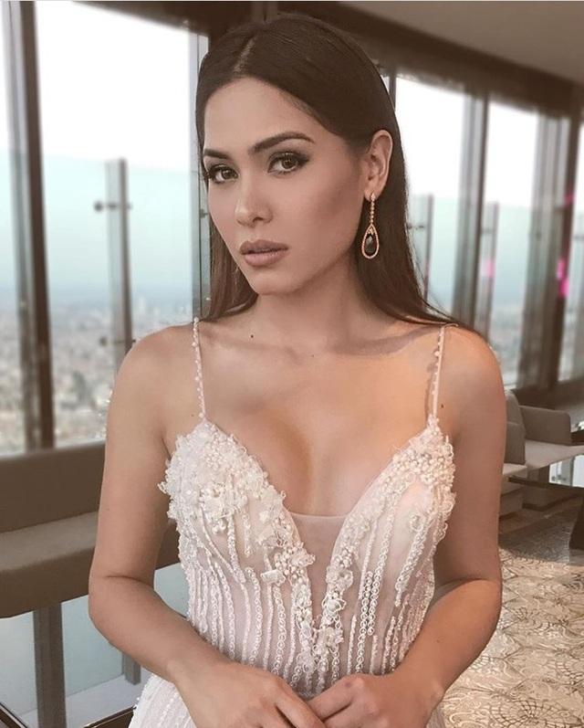 Nhan sắc bốc lửa của tân hoa hậu hoàn vũ Mexico - 5
