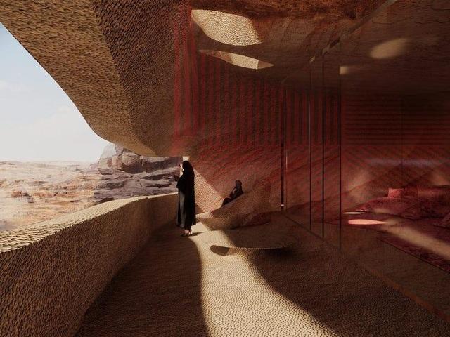 Trải nghiệm có một không hai ở khách sạn xây trong lòng núi đá sa thạch - 9