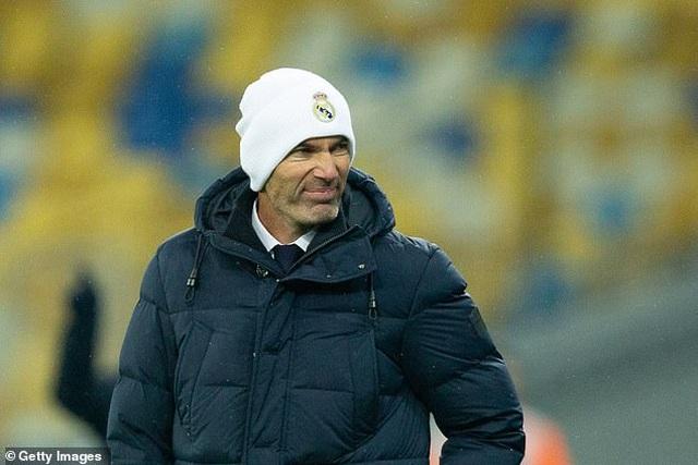 Real Madrid tiếp tục thua sốc, HLV Zidane tuyên bố không từ chức - 1