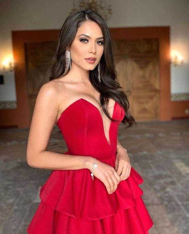 Nhan sắc bốc lửa của tân hoa hậu hoàn vũ Mexico - 7