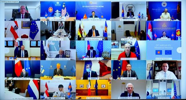 ASEAN - EU nâng cấp quan hệ lên Đối tác chiến lược - 1