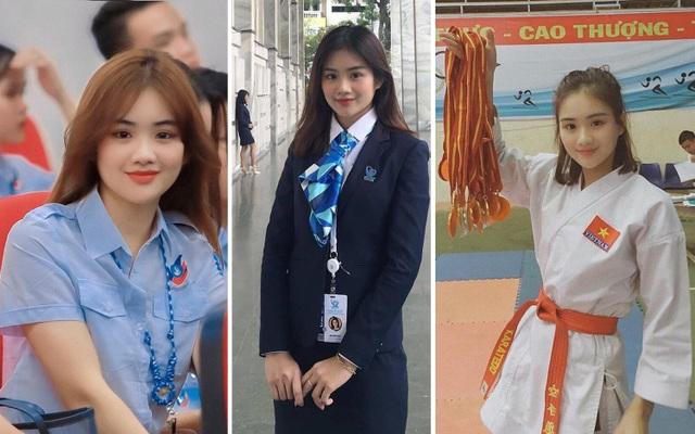 Á khôi 1 Bùi Minh Anh từng giành 30 huy chương vàng Karatedo - 10