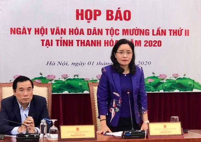 Ngày hội Văn hóa dân tộc Mường tại Thanh Hóa - 1
