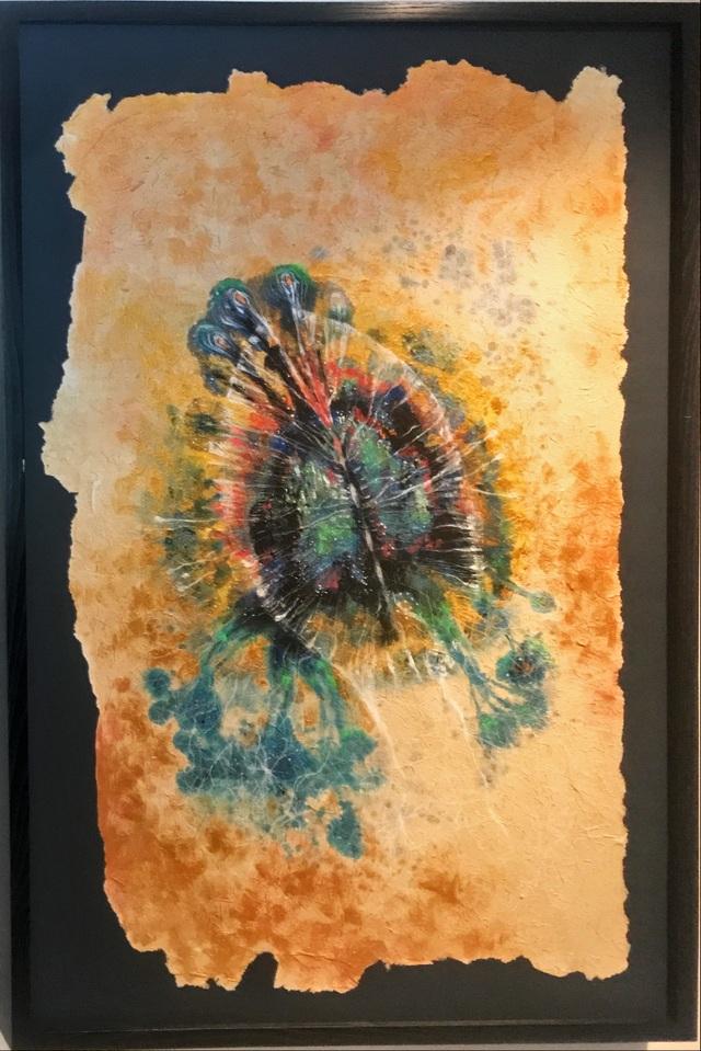 Vùng sống - triển lãm đầu tiên kết hợp giữa lụa với giấy giang - 2