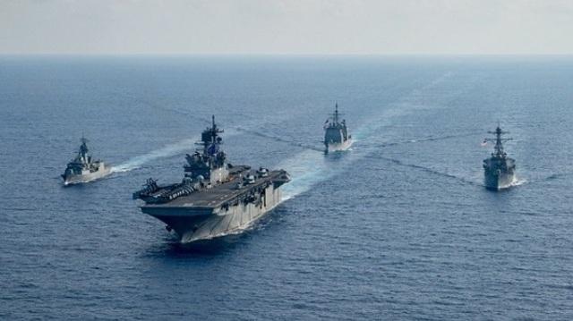 Báo Trung Quốc đe dọa các tàu chiến Australia ở Biển Đông - 1