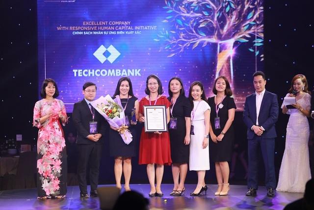 Vietnam HR Awards 2020: Techcombank - ngân hàng duy nhất được vinh danh hạng mục ứng biến xuất sắc - 1