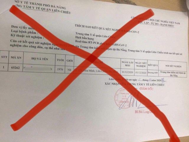 Vụ kết quả xét nghiệm SARS-CoV-2 bị sửa: Đình chỉ công tác 2 nữ điều dưỡng - 1