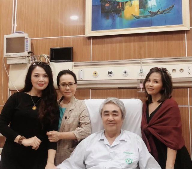 NSND Quang Thọ đón tuổi 72 sau 33 ngày thoát cửa tử vì tai biến - 1