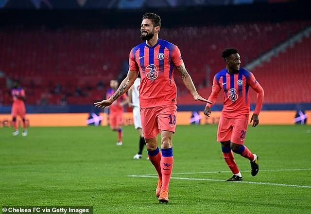 Giroud ghi 4 bàn, Chelsea thắng hủy diệt nhà vô địch Europa League - 1