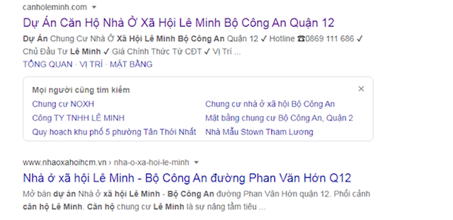 TPHCM: Chính quyền đưa ra cảnh báo dấu hiệu lừa đảo mua bán căn hộ Lê Minh - 2