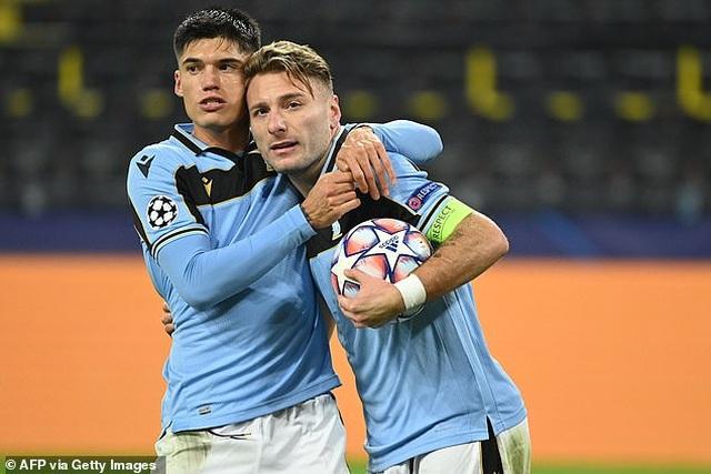 Vắng Erling Haaland, Borussia Dortmund bị Lazio cầm hòa trên sân nhà - 4