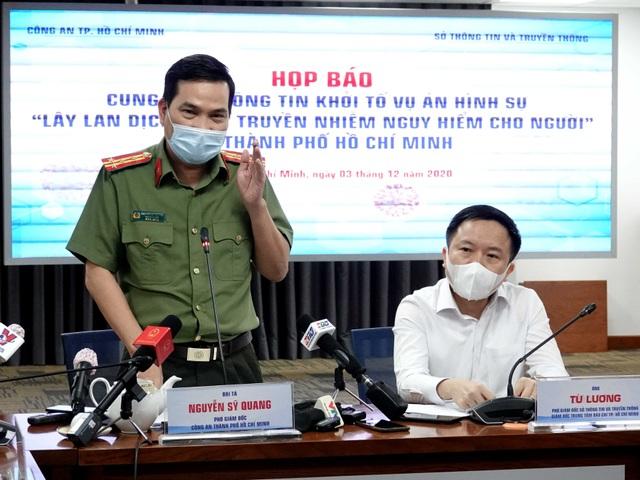 Chủ tịch TPHCM đề nghị sớm khởi tố bị can  đối với ca bệnh 1342 - 3