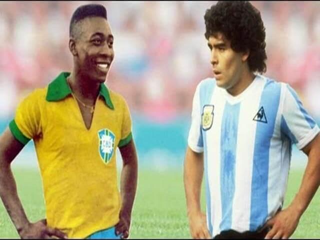 Vua bóng đá Pele viết tâm thư tưởng nhớ huyền thoại Maradona - 2