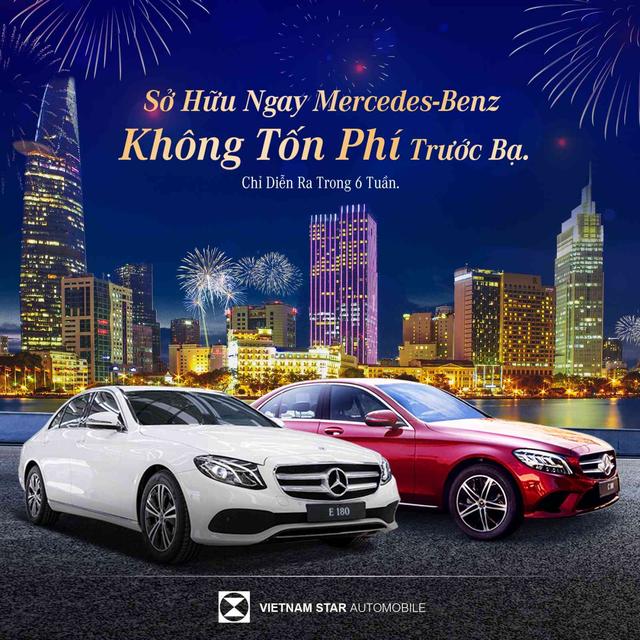 Sở hữu ngay Mercedes-Benz không tốn phí trước bạ tại Vietnam Star - 1