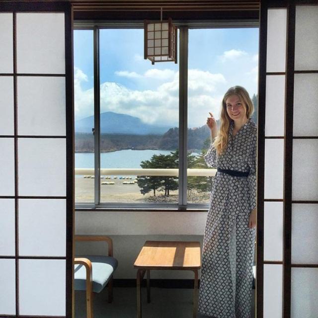 Tắm onsen dưới chân núi Phú Sĩ - 3