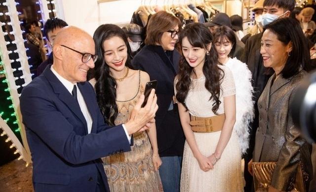 Người đẹp Lưu Ly Mỹ Nhân Sát lu mờ khi đứng cạnh Angelababy - 2