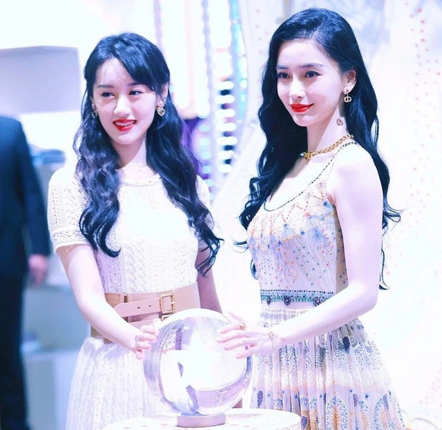 Người đẹp Lưu Ly Mỹ Nhân Sát lu mờ khi đứng cạnh Angelababy - 1