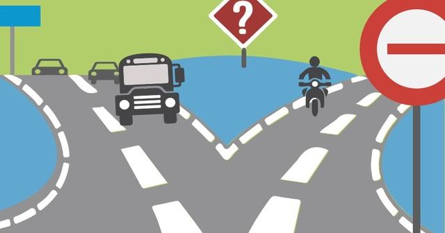 Hiểu đúng về vạch chia làn đường, chiều đường để tránh bị phạt - 8