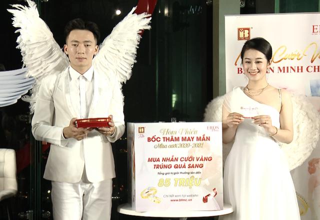 Bảo Tín Minh Châu tổ chức bốc thăm trúng thưởng mùa cưới đợt 1 - 2