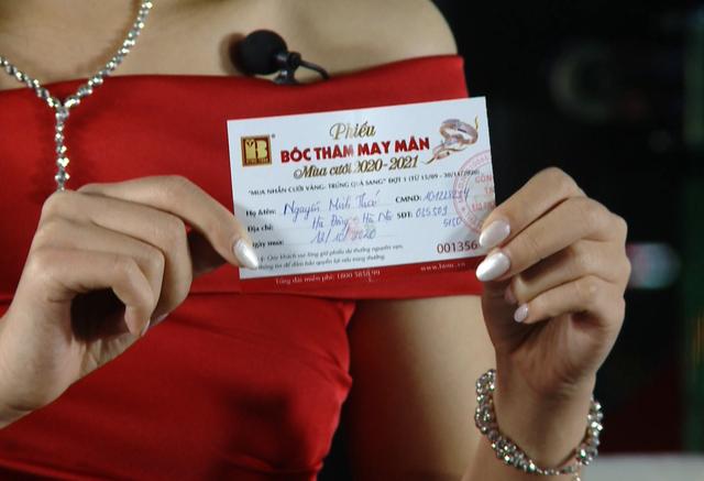 Bảo Tín Minh Châu tổ chức bốc thăm trúng thưởng mùa cưới đợt 1 - 3