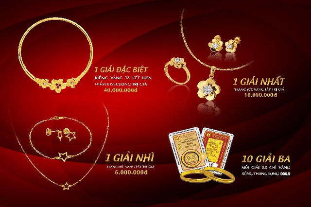 Bảo Tín Minh Châu tổ chức bốc thăm trúng thưởng mùa cưới đợt 1 - 4