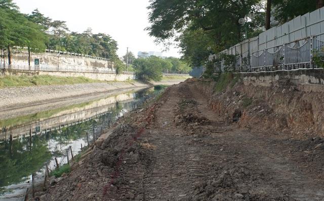 Cận cảnh công trình tách nước thải khỏi sông Tô Lịch - 5