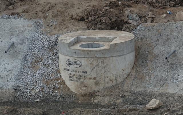 Cận cảnh công trình tách nước thải khỏi sông Tô Lịch - 15