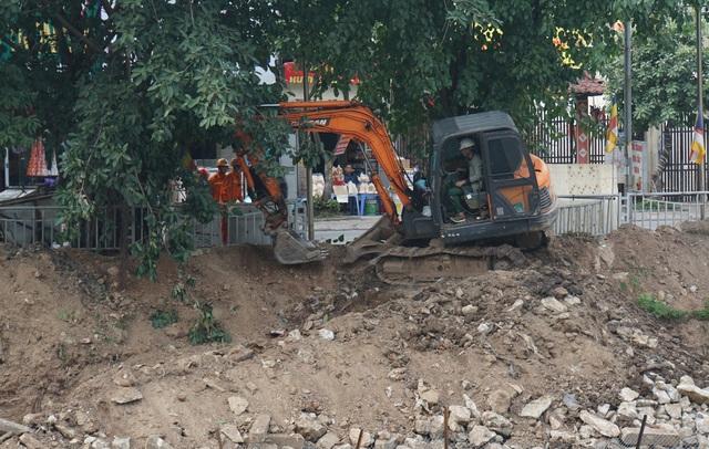Cận cảnh công trình tách nước thải khỏi sông Tô Lịch - 3