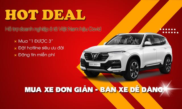 Tin Bán Xe dành ưu đãi lớn thúc đẩy doanh nghiệp ô tô Việt Nam hậu Covid-19 - 1