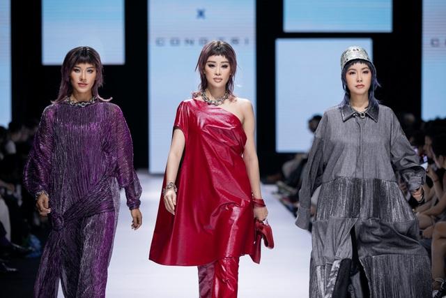 Tân hoa hậu Đỗ Thị Hà lần đầu xuất hiện trên sàn diễn thời trang - 5