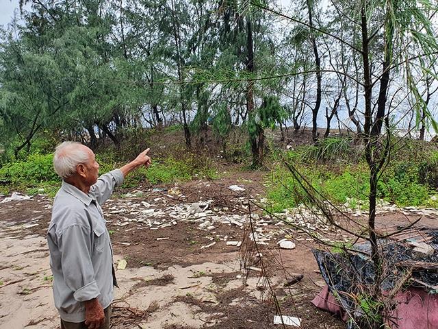 Quảng Bình: Biển gặm sát vào khu dân cư, người dân kêu cứu - 2