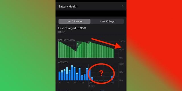 iPhone 12 sụt pin nhanh dù đang ở chế độ chờ - 1
