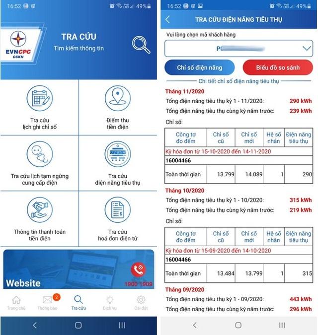 Hướng dẫn tra cứu chỉ số tiêu thụ điện của hộ gia đình ngay trên smartphone - 6