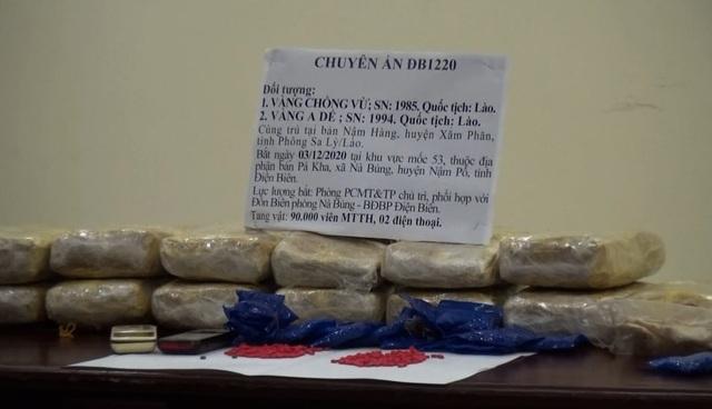 Bắt 2 người Lào vận chuyển 90.000 viên ma túy tổng hợp vào Việt Nam - 2