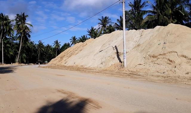 Núp bóng dự án, ồ ạt khai thác cát trên sông Lại Giang - 4